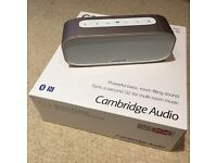 Cambridge Audio G2 Bluetooth Speaker - as new - only £60!