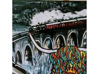 Painting Glen Finnan Viaduct