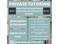 Tutor - 11+, English, Maths, Psychology, Law, BPTC, LPC, Key Stage 1, 2, 3, GCSE, A-Level, Undergrad