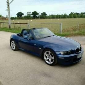 STUNNING!! Topaz blue BMW Z3 2.0 6cylinder