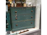 Victorian antique chest of drawers