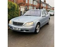 Mercedes S500 S Class W220 - Open To Offers