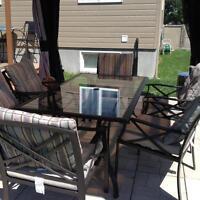 Set patio 6 places