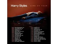 2x Harry Styles standing tickets, Hammersmith Apollo London, Monday 30th October 2017