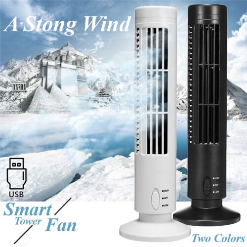 Portable USB Tower Fan Home Cooling Air Conditioner Purifier