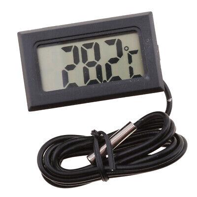 Multifunctional Digital Display Waterproof Thermometer Heat Measure Meter