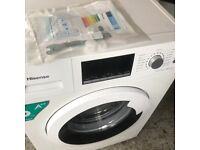 Washing machine as new