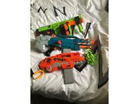 Nerf Guns - Zombie Strike with Bullets