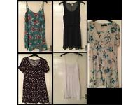 5x Dresses Bundle H&M Dorothy Perkins New Look Size 10-14