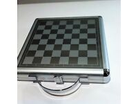 Executive Gift Travel 3 and 1Chess Checker and Backgammon case games