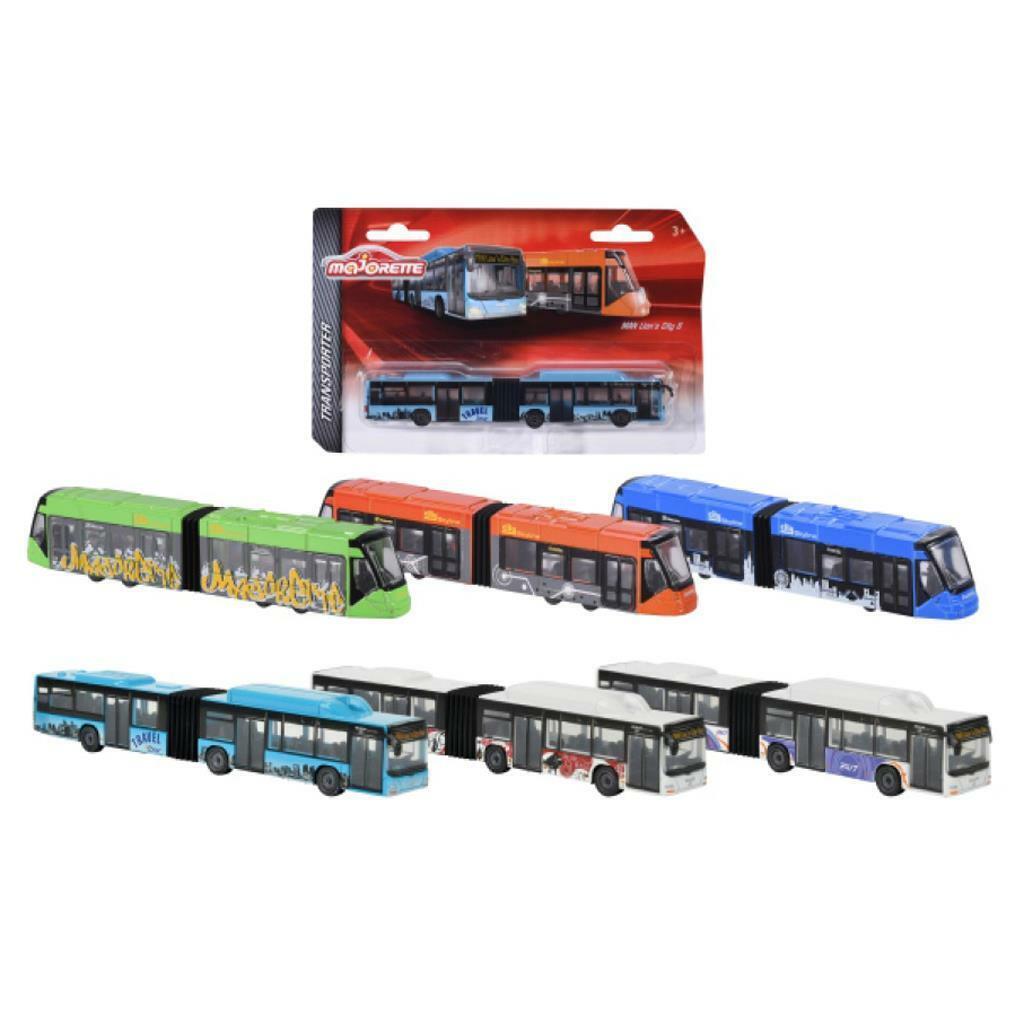 Majorette  Auswahl an Cars Transporter  Buse Straßenbahn Autos