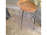John Lewis four bar stools