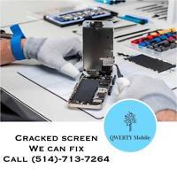 Réparation iPad / ipad mini   iPhone  4/4s/5/5s/5c/6/6+ remplacement écran lcd  Laval  Bas prix, rapide et 100% garanti