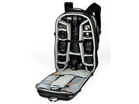 Nikon D600 - battery grip - 70-200 f2.8 - lowepro 300aw