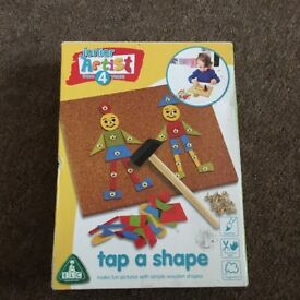 Tap a shape game