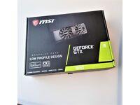 NEW MSI Nvidia Geforce GTX 1650 OC 4GB GDDR5 Graphics Card GPU Low Profile