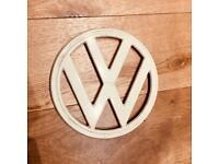 ORIGINAL VINTAGE T2 Bulli Volkswagen Campervan/Bus front emblem