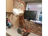 Stihl trolley for concrete saw-cutquick