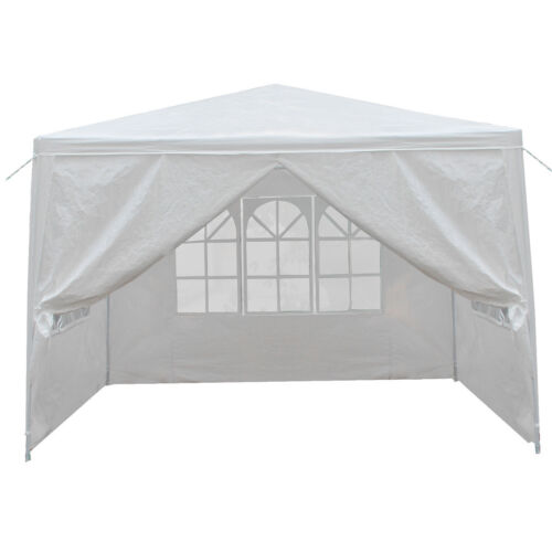 10'x10' Carport Garage Car Shelter Canopy Party Tent Sidewal