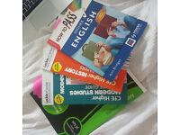 4 SQA textbooks - Higher and National 5