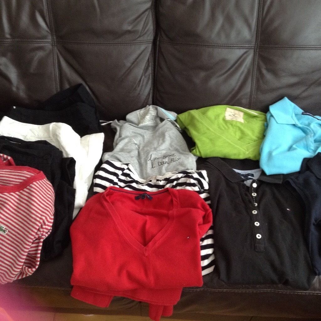 Job lot Designer jumpers/t shirt/short/trousers size16