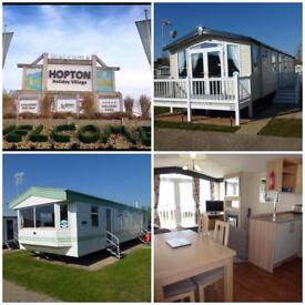 Caravans for hire Haven Hopton Holiday Village *Summer dates available*