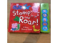 Peppa Pig Book with sounds