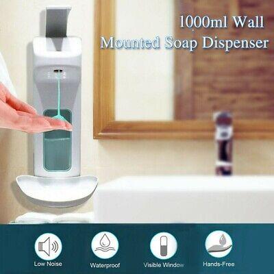 1000 ml Hand Ellbogen Drücken Wandspender Hygiene Desinfektionsmittel spender