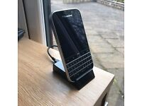 Blackberry Classic, Black, Like new, used for 3 days. Unlocked, c/w charging dock and leather case