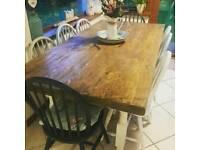 Farmhouse table tops