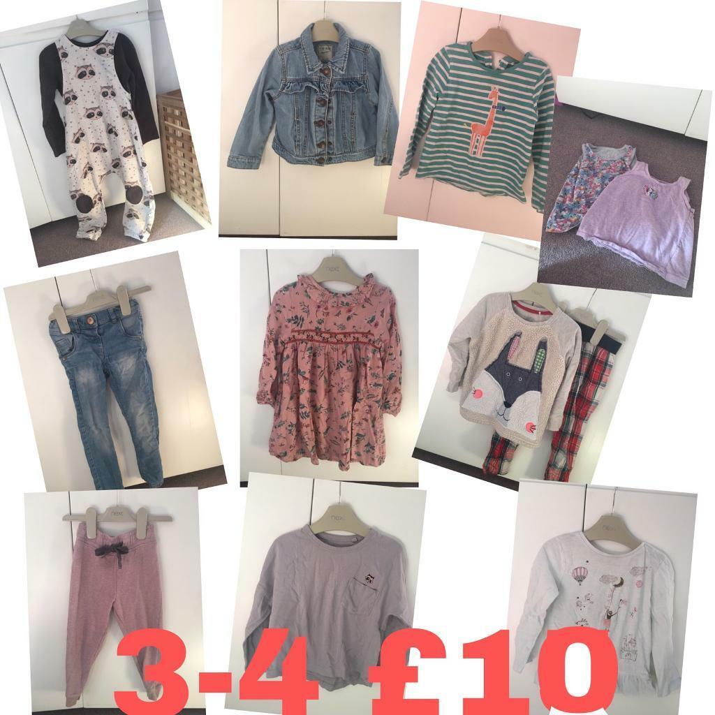 ab21fec57f80 NEXT clothes bundle 3-4