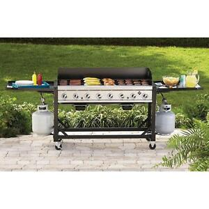 Big event - commercial -  Portable Propane Gas Big Event BBQ Grill - - Now with flat grill  option- FREE SHIPPING