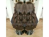 Luxury hair services, colours, cuts, extensions