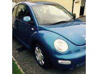 Vw beetle blue. 2ltr only 30000
