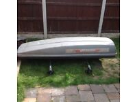Roof box with bars VW T4