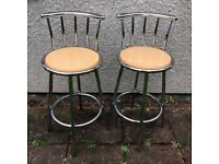 Two Bar/Kitchen Diner Stools