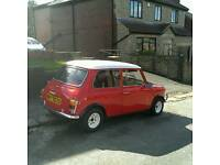 CLASSIC Austin MINI 1978 Layland cars, FULLY RESTORED CLUBMAN Ford 1000 1275