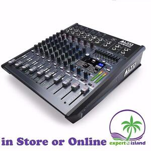 All New ALTO LIVE 802 Professional 8-Channel / 2-Bus Audio mixer with USB and 99 FX like ECHO, Reverb