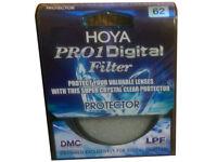 Hoya Lens Protector 62mm New, Bought In Error