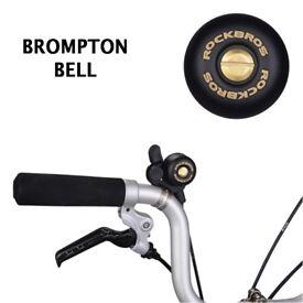BROMPTON Bell Steel Copper Custom BLACK