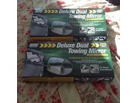 Towing mirrors brand new in box