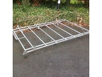 Galvanised Roof Rack With Rear Rollers