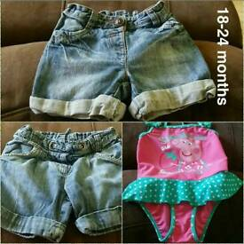 Various girls clothes