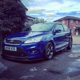 Highly Modified CP320 Ford Focus ST-3 Performance Blue