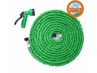 100ft expandable hose with spray gun