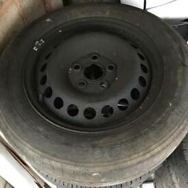 Vw t5.1 steel wheels
