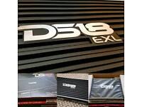 DS18 CAR AMP 1900WATT (brand new)