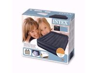 QUICK SALE BRAND NEW INTEX RAISED AIRBED QUEEN SIZE WITH BUILT IN PUMP
