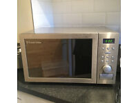 Russell Hobbs used microwave oven with grill and fan-assisted convection oven
