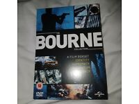 The Bourne Collection, 4 film boxset. Identity, Supremacy, Ultimatum, Legacy. Never used.